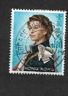 HONG KONG -   1962 Queen Elizabeth II - Watermarked Uprigh     Used - Usados