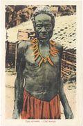 Types Africains – Chef Warega - Cartes Postales