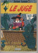 Lucky Luke - Le Juge - Offert Par Le Réseau TOTAL - Texte Et Illustration De Morris - Lucky Luke