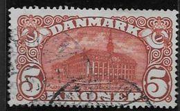 Danemark 1913 N° 84 Oblitéré Hotel Des Postes De Copenhague - 1913-47 (Christian X)