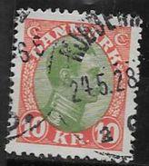 Danemark 1921 N° 149 Oblitéré Christian X - 1913-47 (Christian X)