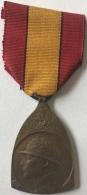 Militaira. Médaille Décoration Belge Guerre 14-18. Médaille Commémorative. Herinnerinsmedaille - Belgique
