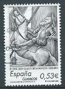 ESPAGNE SPANIEN SPAIN ESPAÑA  2005 FROM SHEET El Quijote  0.53€ ED 4161b YV 3749 MI 4044 SG 4107b SC 3356b - 1931-Hoy: 2ª República - ... Juan Carlos I