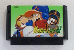 Famicom : Ganbare Pennant Race! RC834 - Electronic Games