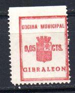 Viñeta  Nº 9 Cocina Municipal   Gibraleon. - Vignettes De La Guerre Civile