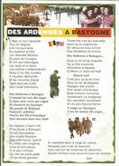 CP DES ARDENNES A BASTOGNE - Guerre 1939-45