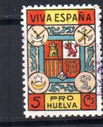 Viñeta  Pro Huelva- - Vignettes De La Guerre Civile