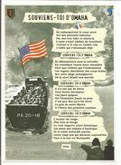 CP DEBARQUEMENT SOUVIENS D'OMAHA - Guerre 1939-45