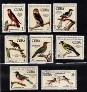 Birds Centenario Muerte R. De La Sagra - Cuba