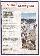 CP VILLES MARTYRES - Guerre 1939-45