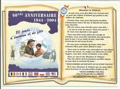 CP DEBARQUEMENT 60 ANS - Guerre 1939-45