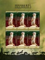 GAMBIA 2014 ** Meerkats Erdmännchen M/S II - OFFICIAL ISSUE - DH9999 - Briefmarken
