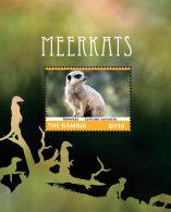 GAMBIA 2014 ** Meerkats Erdmännchen S/S II - OFFICIAL ISSUE - DH9999 - Briefmarken