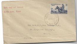 AUSTRALIE-Enveloppe 1er Jour  En 1949 - FDC