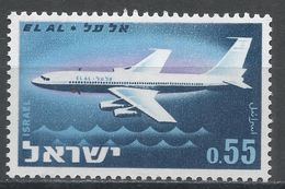 Israel 1962. Scott #228 (MNH) Boeing 707, Avion - Israel