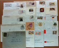 Germany / 20 X Covers / Beer, Spener, Reuter, Music, Post, Horses, Coach, Industry, Grimm, Railway, Church - BRD