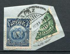 Bolivien Porto Nr.111    109 Halbierung       O  Used        (206) - Bolivie