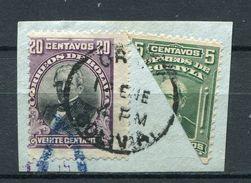 Bolivien Porto Nr.70  +  85 Halbierung       O  Used        (207) - Bolivia