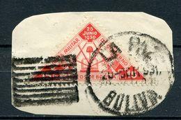 Bolivien Porto Nr.210 Briefstück       O  Used        (208) - Bolivia