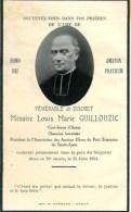 FAIRE-PART Du Décès De Messire Louis Marie Guillouzic Le 15 Juin 1934 - Obituary Notices