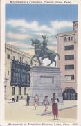 Carte Postale De Lima. Perou. - Pérou