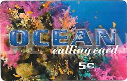 OCEAN Calling Card 5 Euros - Unknown Origin