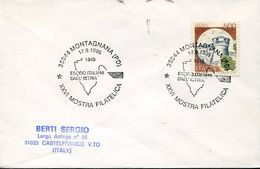 24110 Italia, Special Postmark 1995 Montagnana,  Esodo Italiani Dall'istria Exodus Of Italians From Istria - WO2