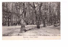 13 Aubagne Cours Voltaire Cpa Carte Non Voyagée - Aubagne