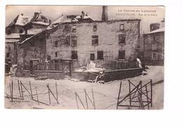 54 Badonviller Rue De La Blette Cpa La Guerre En Lorraine Grande Guerre 1914 1918 - Autres Communes