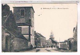 28  CHATENAY  MAISON  LEGENDRE     +  PERSONNAGES     TBE - Autres Communes