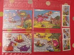 4 Puzzles Kinder  K 99 N° 120 à 123 + BPZ. 1999 - Puzzles