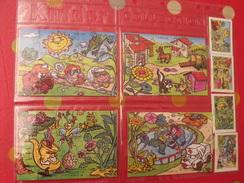 4 Puzzles Kinder  K 99 N° 124 à 127 + BPZ. 1999 - Puzzles
