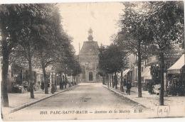 ----94 ---- PARC SAINT MAUR  Avenue De La Mairie TB(dos Avec Taches) - Saint Maur Des Fosses