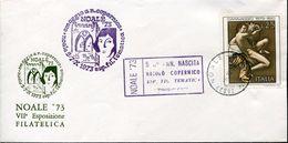 24126 Italia, Special Postmark Noale 1973 Kopernikus, Copernic - Astronomùia