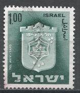 Israel 1965. Scott #290 (U) Arms Of Tel Aviv-Jaffa - Israel