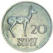 [NC] ZAMBIA - 20 NGWEE 1988 - Zambia