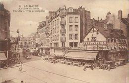 """CPA FRANCE 76 """"Le Havre, La Rue De Paris"""" - Le Havre"""