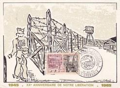A.C.C.A.P GRENOBLE AG 29/05/1965 XXEME ANNIVERSAIRE DE NOTRE LIBERATION (dil321) - Guerre Mondiale (Seconde)