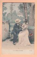 Cpa Carte Postales Anciennes - Fantaisie Couple Fk Aveux Mutuels 4 - Couples