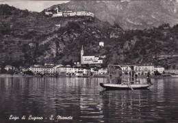 Lago Di Lugano - S. Mamete (127) * 1954 - Como