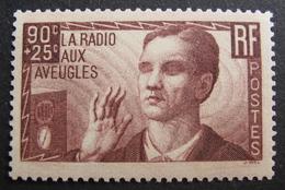 LOT DF/376 - 1938 - LA RADIO AUX AVEUGLES - N°418 NEUF* - Unused Stamps