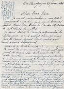 WW1 - EN CAMPAGNE 1916- FRONT D'ORIENT - Lettre De SOLDAT - Camp Retranché De SALONIQUE (Grèce) - Documents Historiques