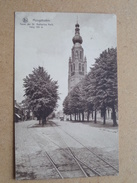 Toren Der St. Katharina Kerk Hoog 105 M. ( Hamers-Severeyns ) Anno 1933 ( Zie Foto Voor Details ) !! - Hoogstraten