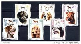POLOGNE 1989, CHIENS DE CHASSE, 6 Valeurs, NEUFS. R562 - Honden