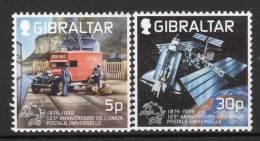 GIBRALTAR - 1999 - N° 881/2  **  U.P.U - Gibraltar