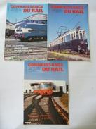 """CONNAISSANCE DU RAIL 1984- Lot De 3 N°48 à 50 LYON: Tramways, Métros, """"Ficelles"""" Et Crémaillère - Détails Sur Les Scans - Trains"""