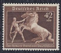 Germany (Deutsches Reich) 1939 Munich Horse Races, MH (*) Michel 699 - Allemagne
