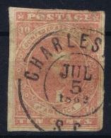 Confederate States Mi Nr 5   Sc Nr 5 Yv Nr 5  Used  Nice Cancel - 1861-65 Confederate States