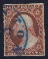 USA Mi Nr 4  Sc Nr 10 Yv Nr 4a   Obl./Gestempelt/used 1851 -  1857 - 1847-99 General Issues