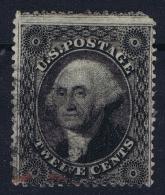 USA Mi Nr 12  Sc Nr 36 Yv Nr 14  Obl./Gestempelt/used - 1847-99 General Issues